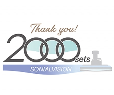 Sonialvision FPD 2,000 Units Sold